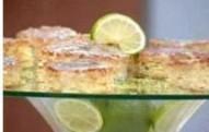 Bolo de limão com farinha de Arroz